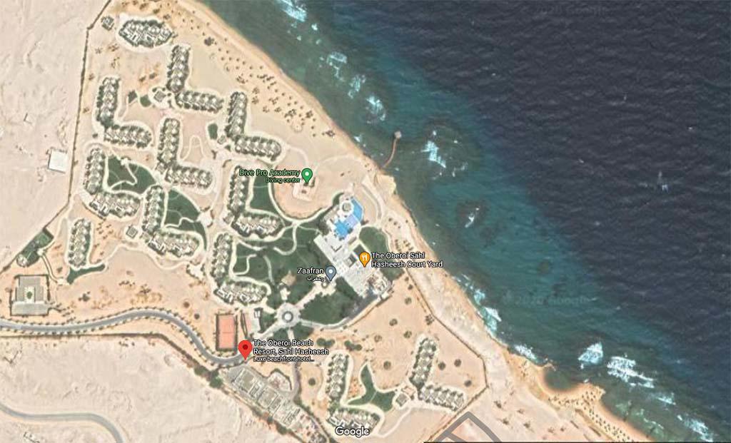 THE OBEROI BEACH RESORT - SAHL HASHEESH, HURGADA