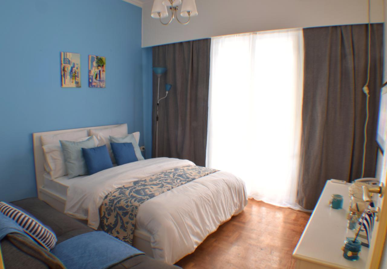 Athens Greek Blue Rooms