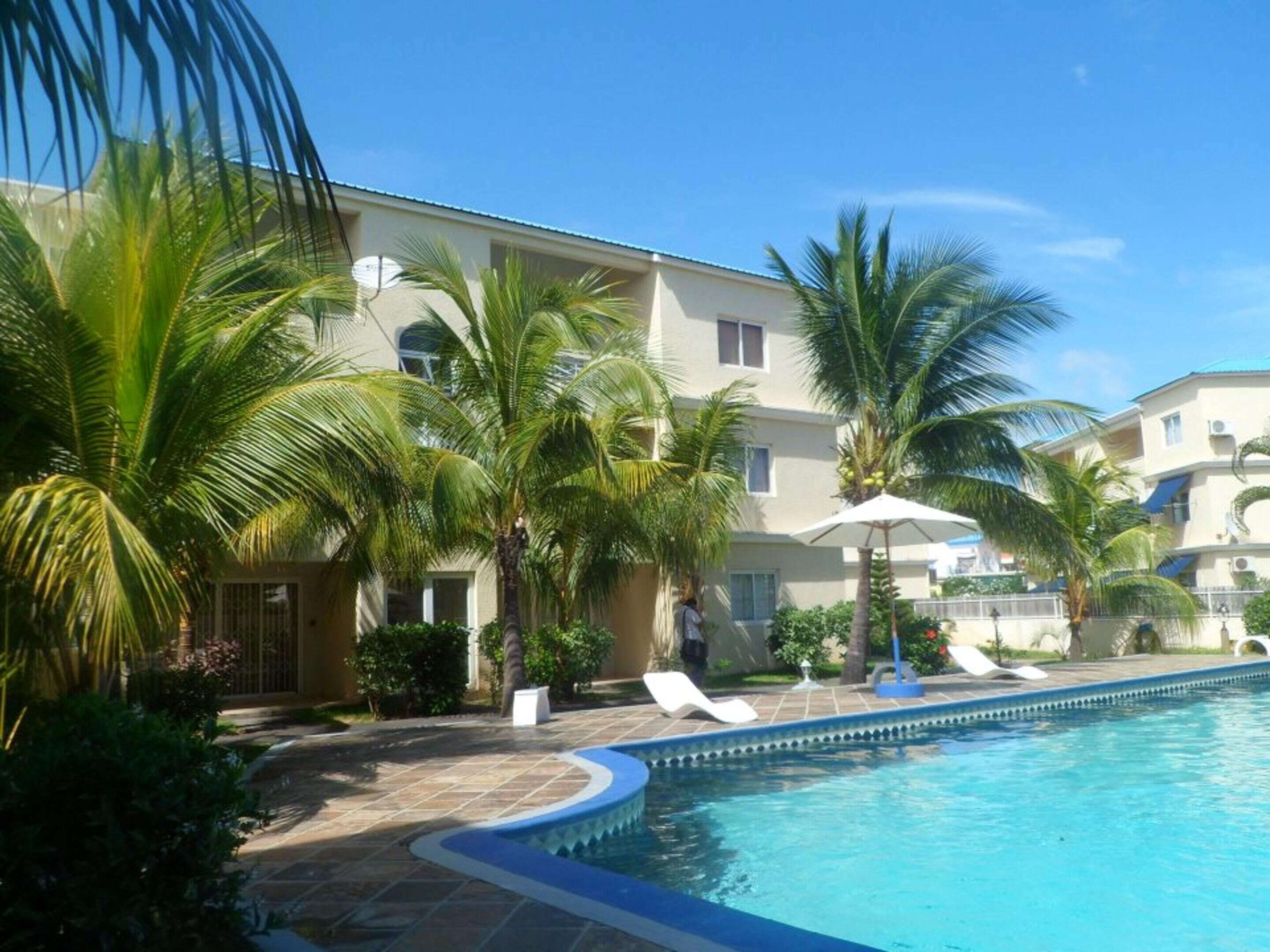 Apartment With 3 Bedrooms In Flic En Flac,  With Wonderful Sea View,  Po