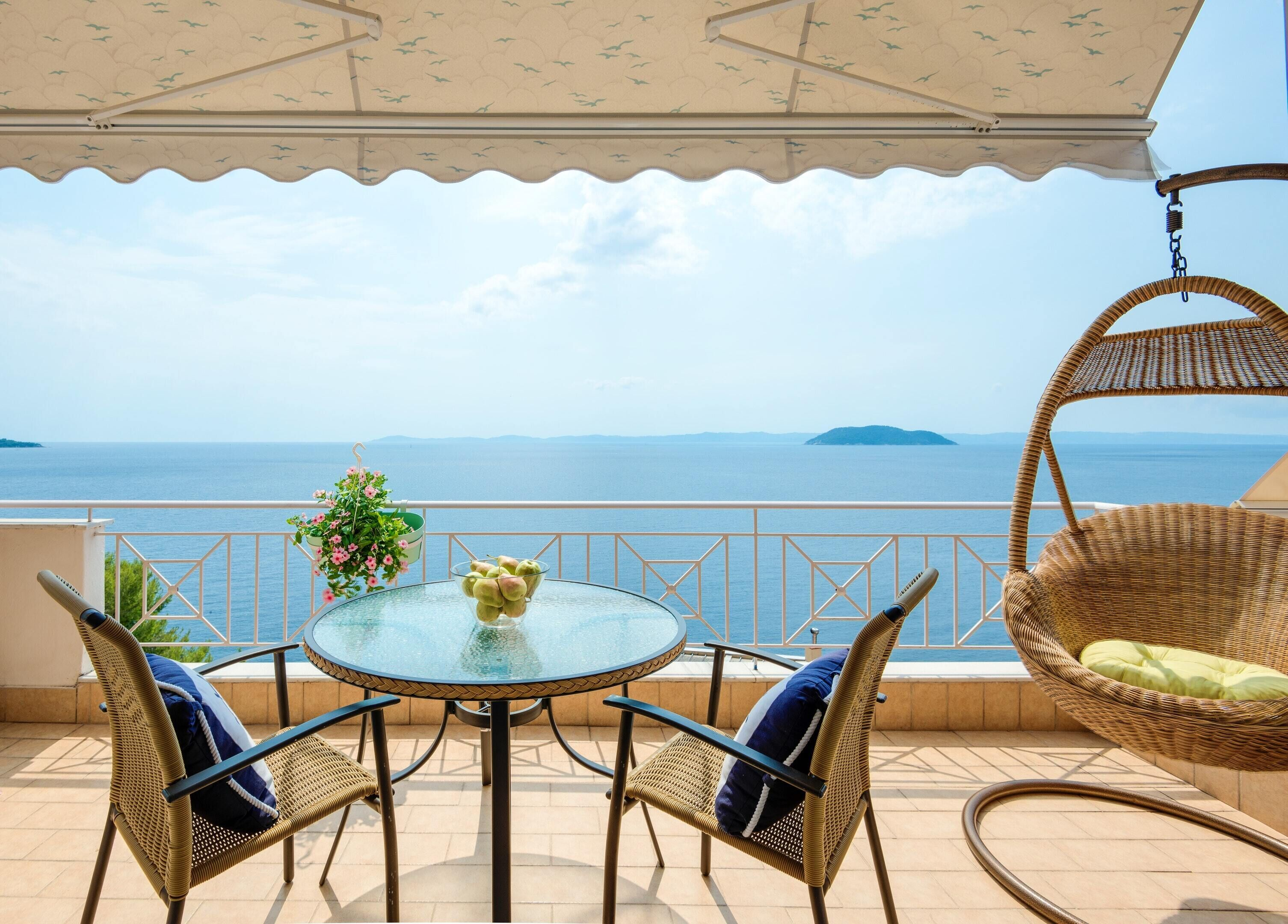 Apartment With 2 Bedrooms In Neos Marmaras,  Chalkidiki,  North Greece,  With Wonderful Sea View And Fu