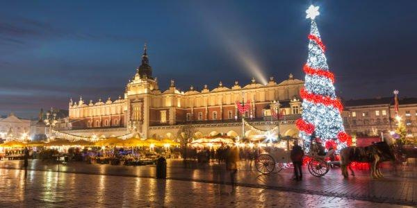Targ de Craciun in Polonia - Cracovia