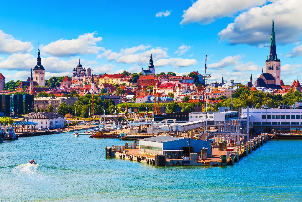 TALLIN - ESTONIA - 1 Decembrie 2020