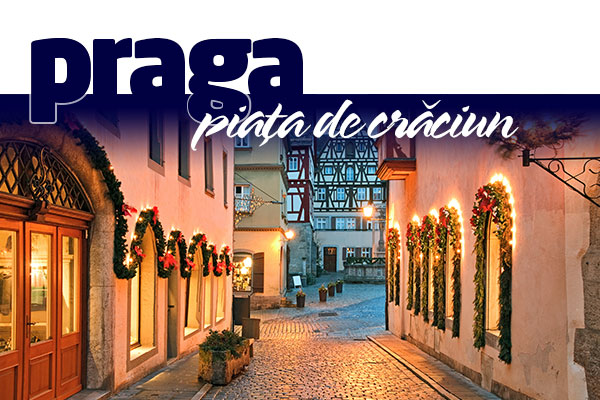 PRAGA - PIATA DE CRACIUN 2020 - Hotel Courtyard By Marriott Prague City