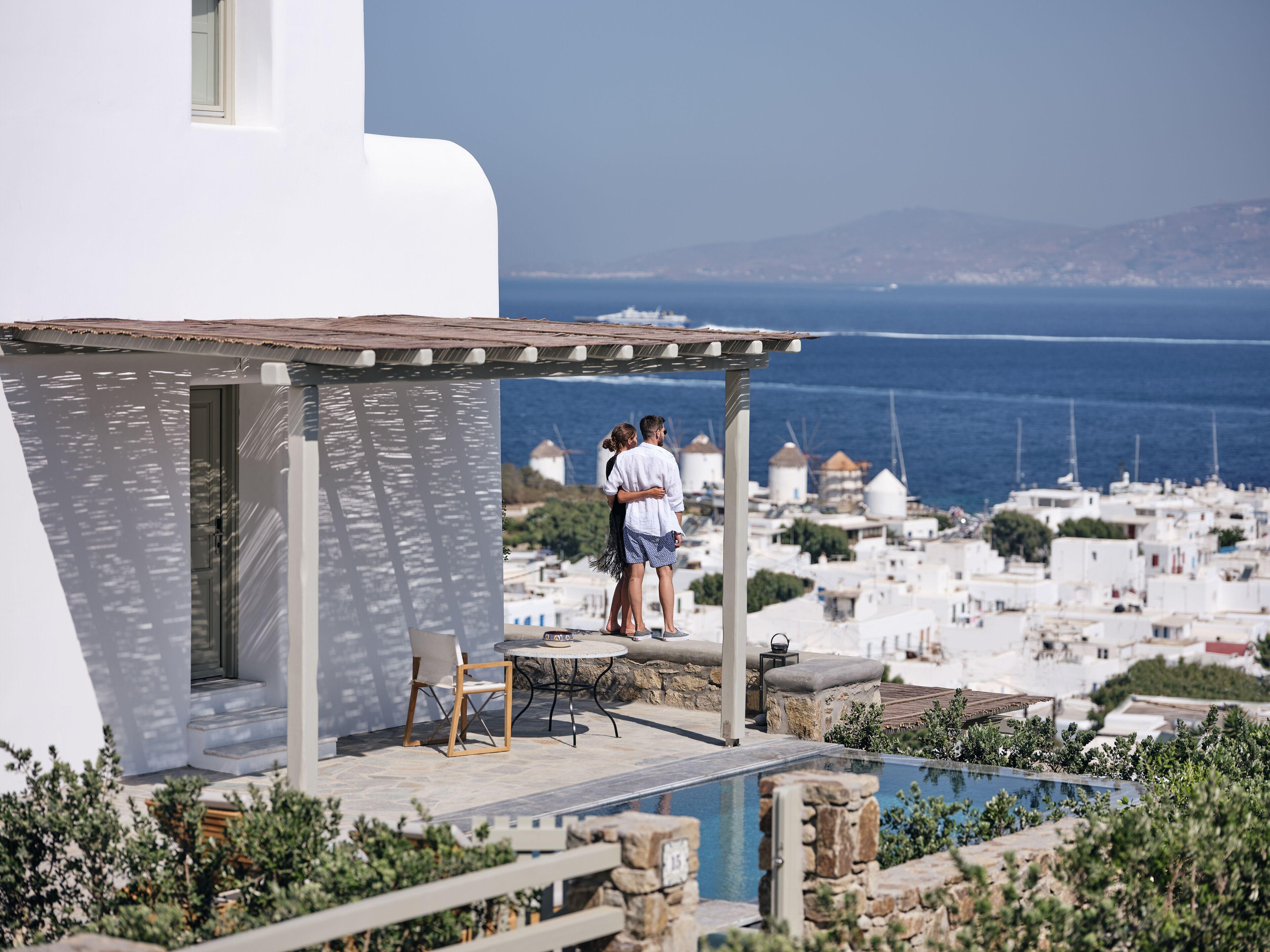 Belvedere Mykonos - Hilltop Complex Rooms And Suites
