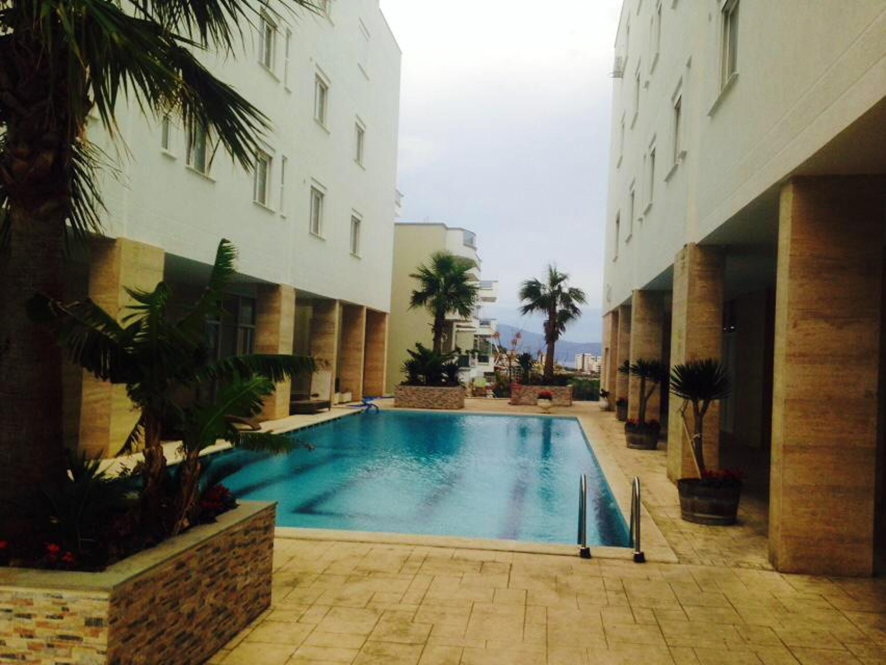 Apartment With One Bedroom In VlorË,  With Wonderful Sea View,  Pool Access,  Balcony - 300 M From The