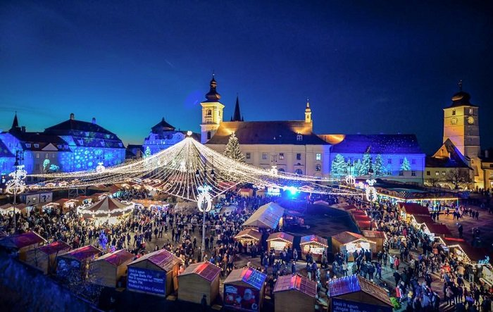 Pietele de Craciun Sibiu si Brasov (3 zile)