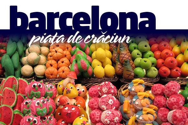 BARCELONA - PIATA DE CRACIUN 2019