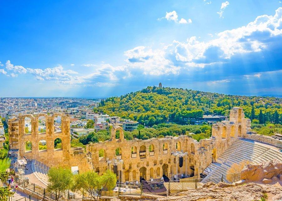 GRECIA 2020 - Pelerinaj la Sfantul Nectarie (avion)