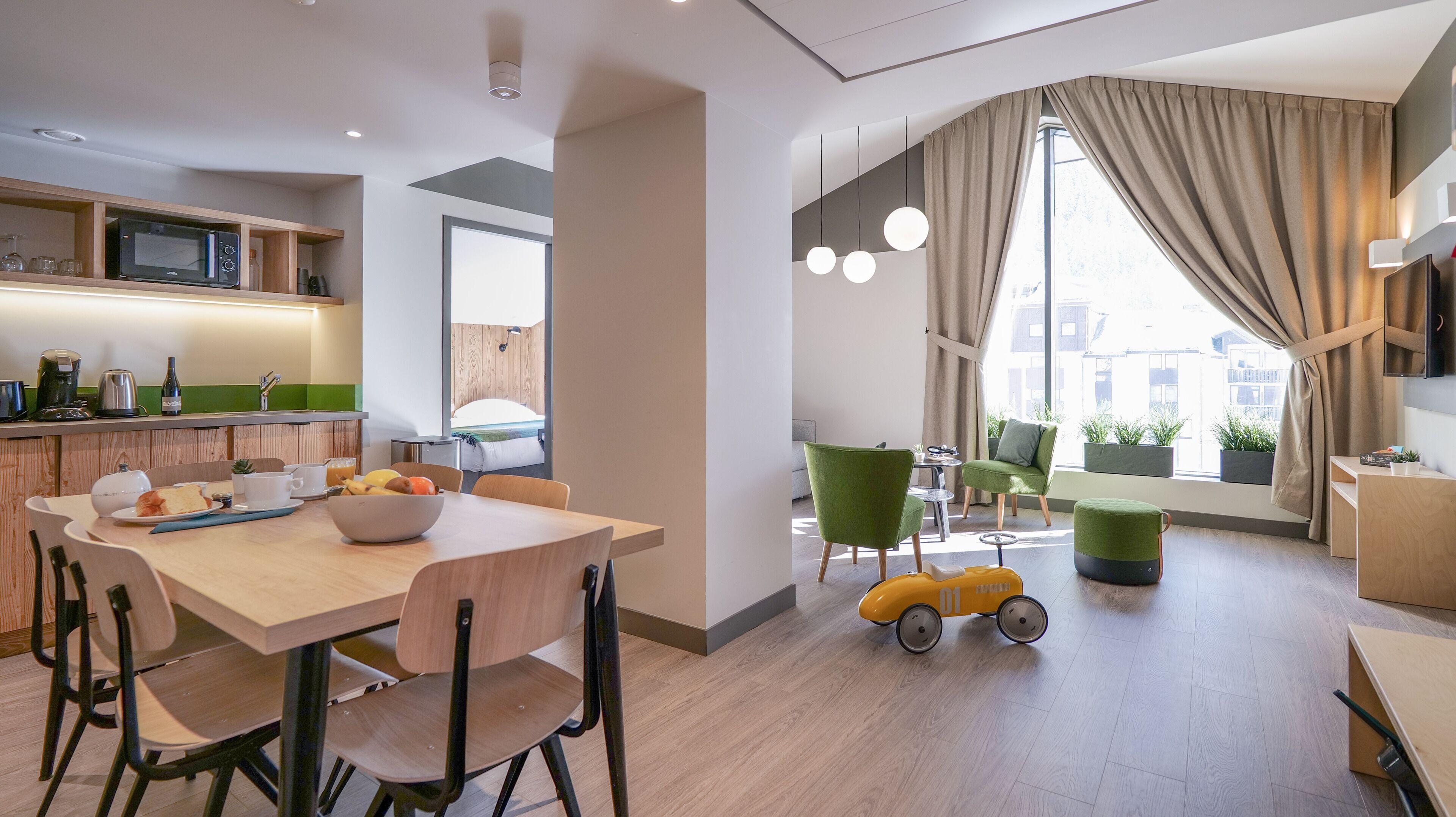 Plan B Hotel - Living Chamonix