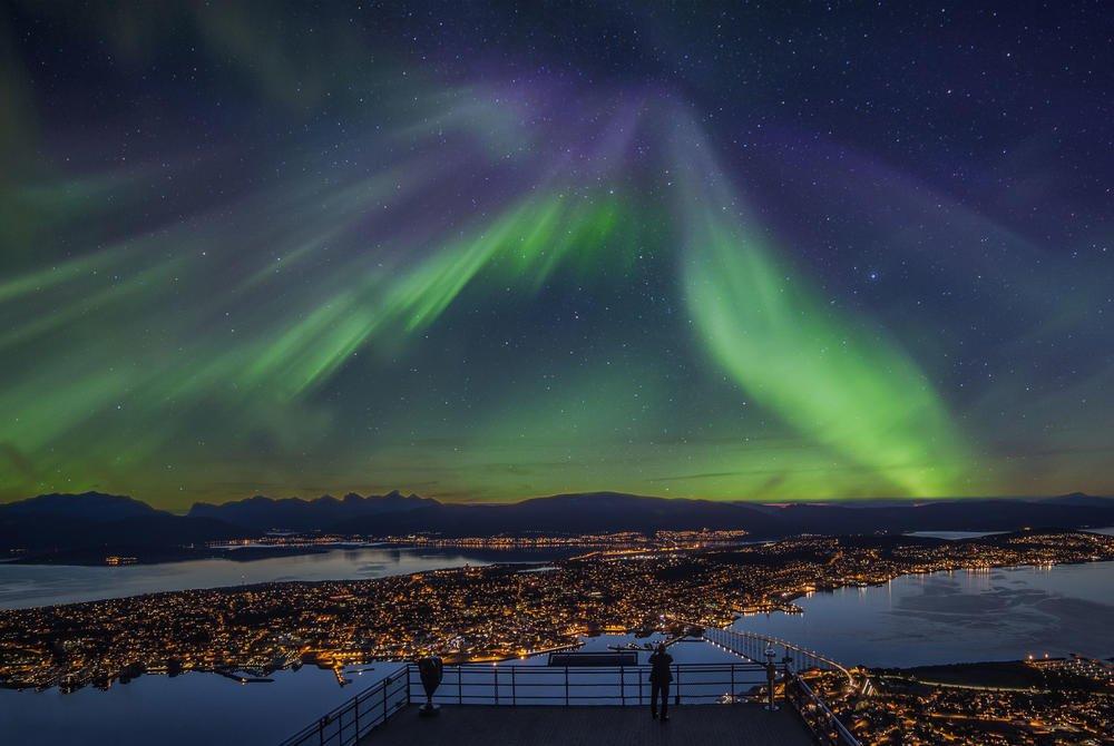 ISLANDA 2021 - Spectacolul aurorei boreale (09.11)