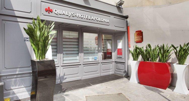 Hotel The OriginalsParis Mouffetard Apolonia (ex Qualys-Hotel)