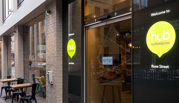 Hub Edinburgh City Centre, Rose Street