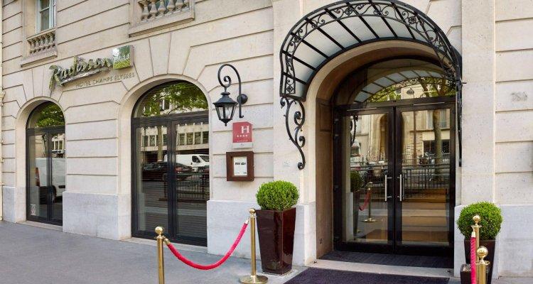 Radisson Blu Hotel Champs Elysées, Paris
