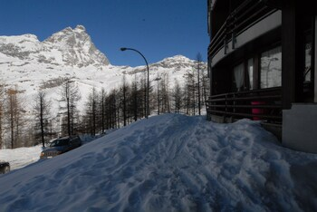 Luxury Sauna Cervinia Panoramic Duplex