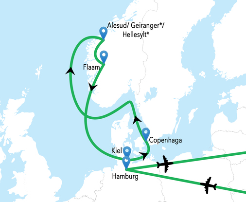Croaziera Fiordurile  Norvegiene - Vas MSC