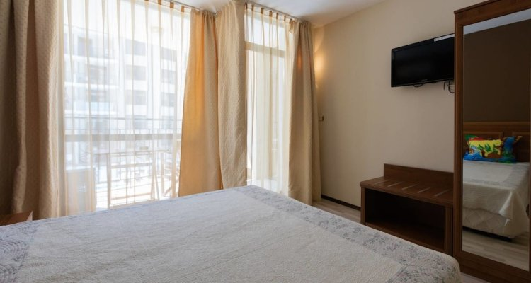 Two Bedroom Apartment with Kitchen & Balcony