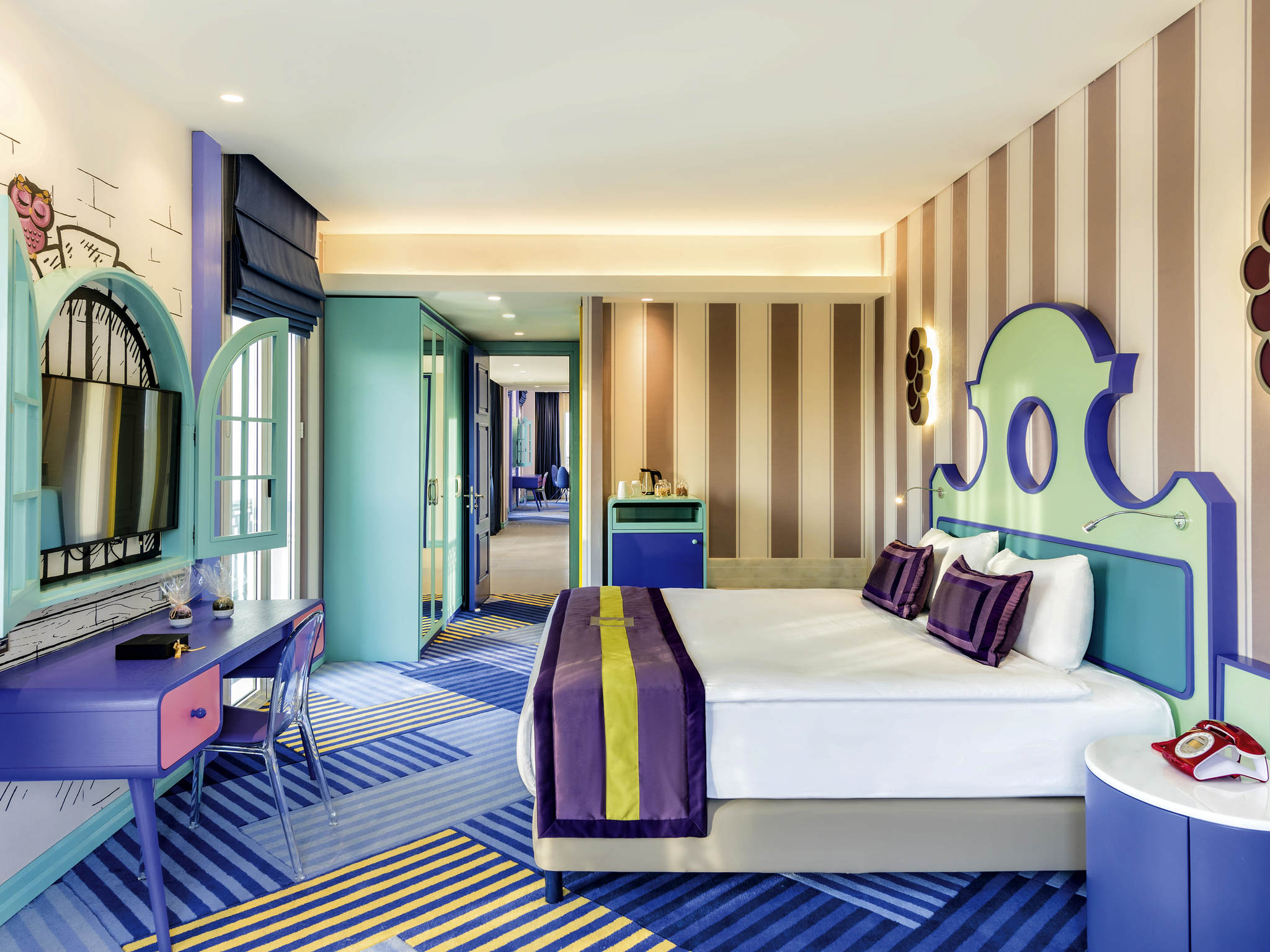 The Land of Legends Theme Park Hotel