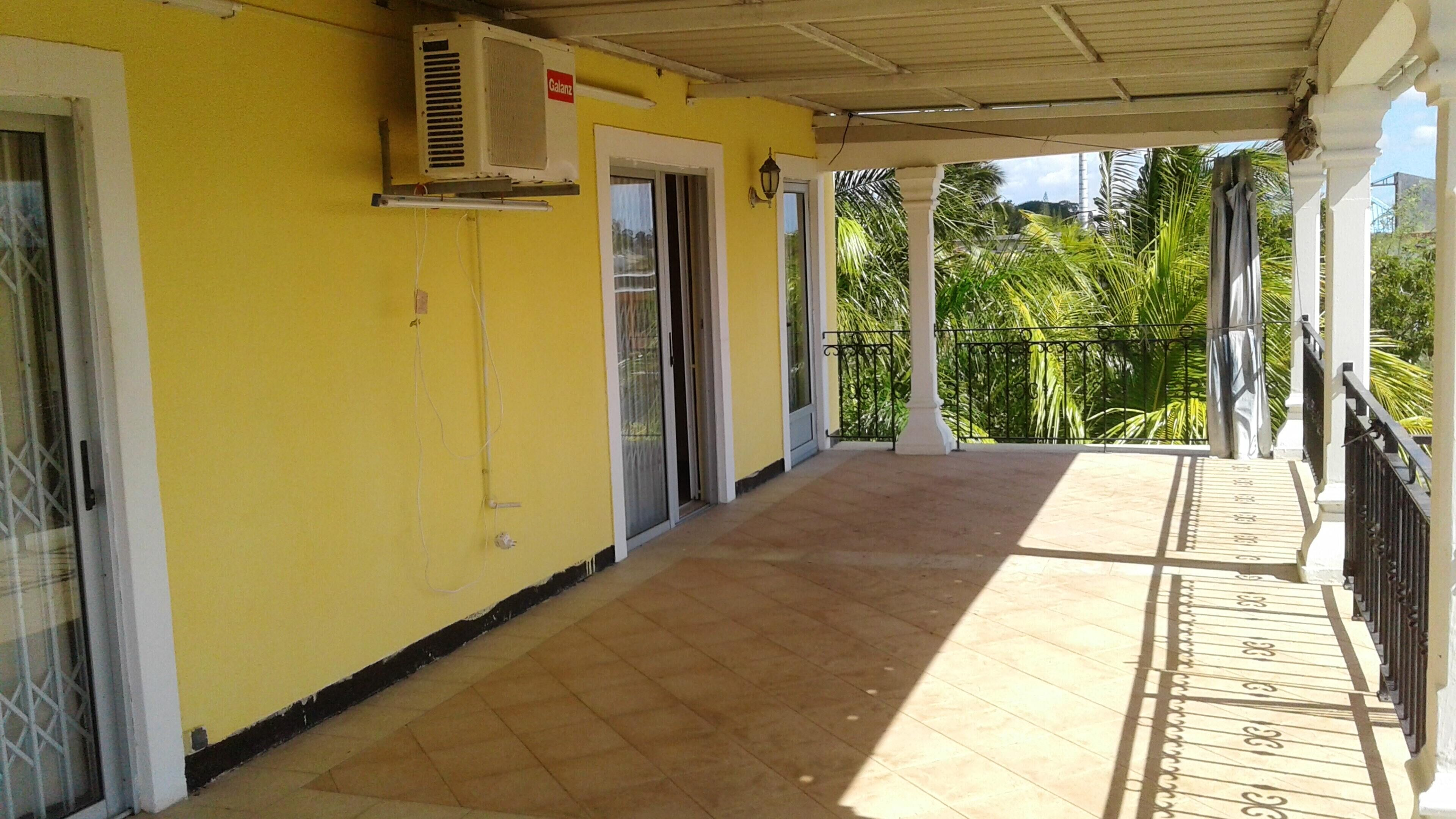 House With One Bedroom In Trou Aux Biches Beach,  With Furnished Garden