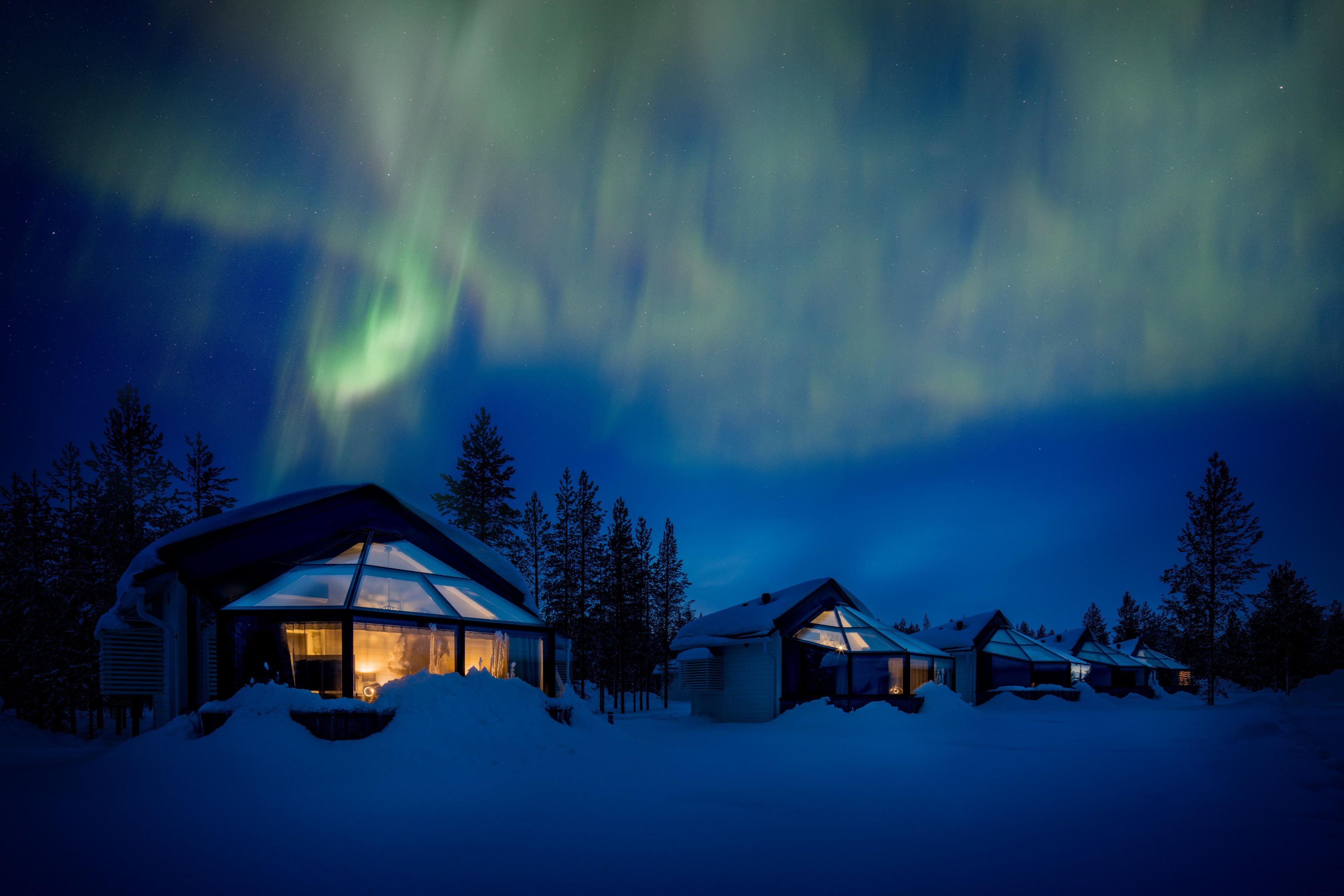 Santa's Igloos Arctic Circle