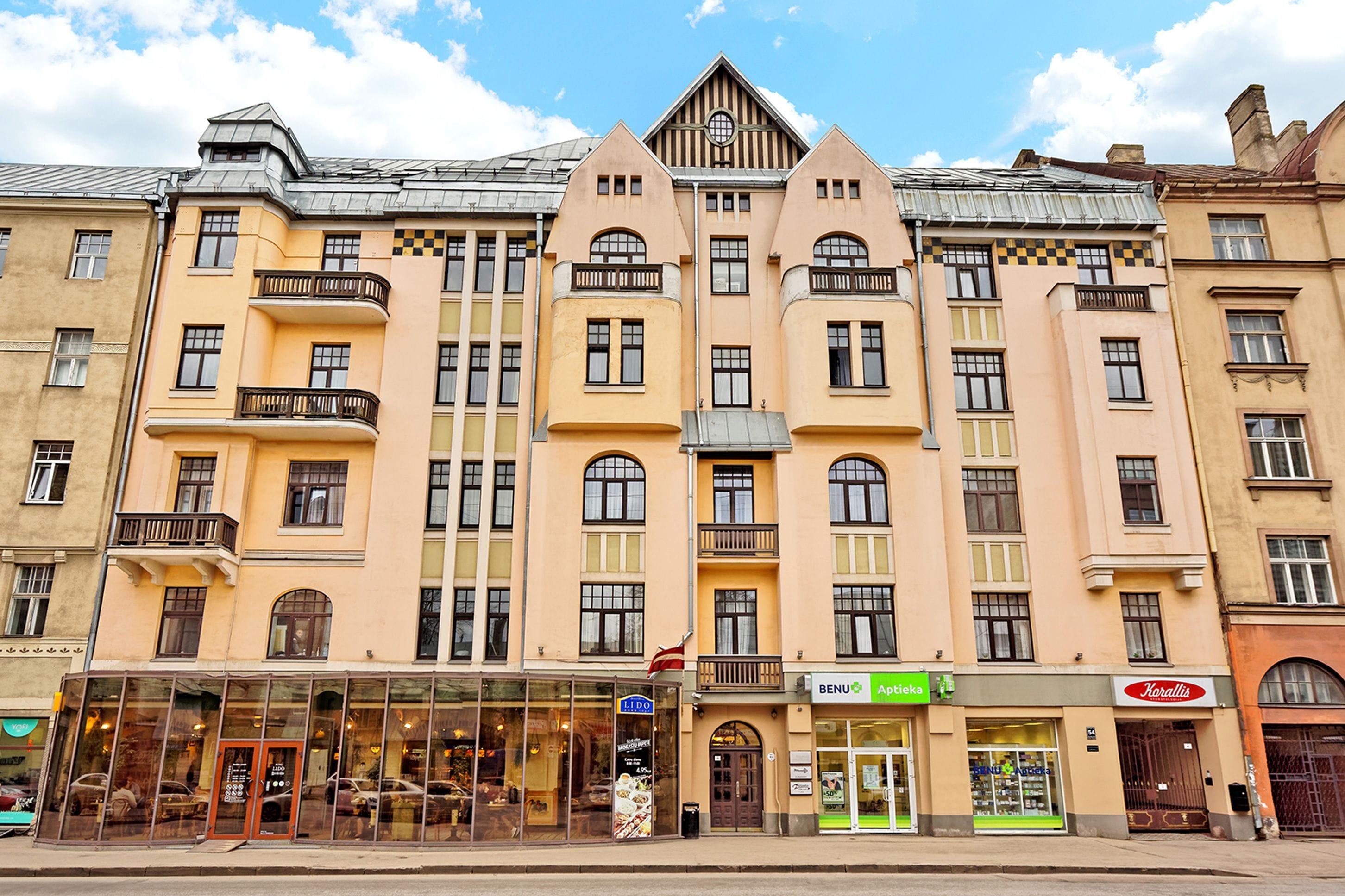 Rigaapartmentcom Gertruda Apartments And Restaurant