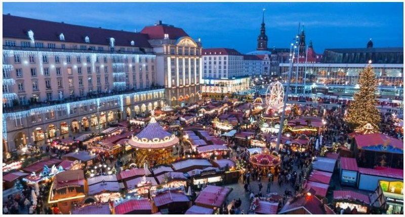 Targ de Craciun Bratislava - Praga - Dresda