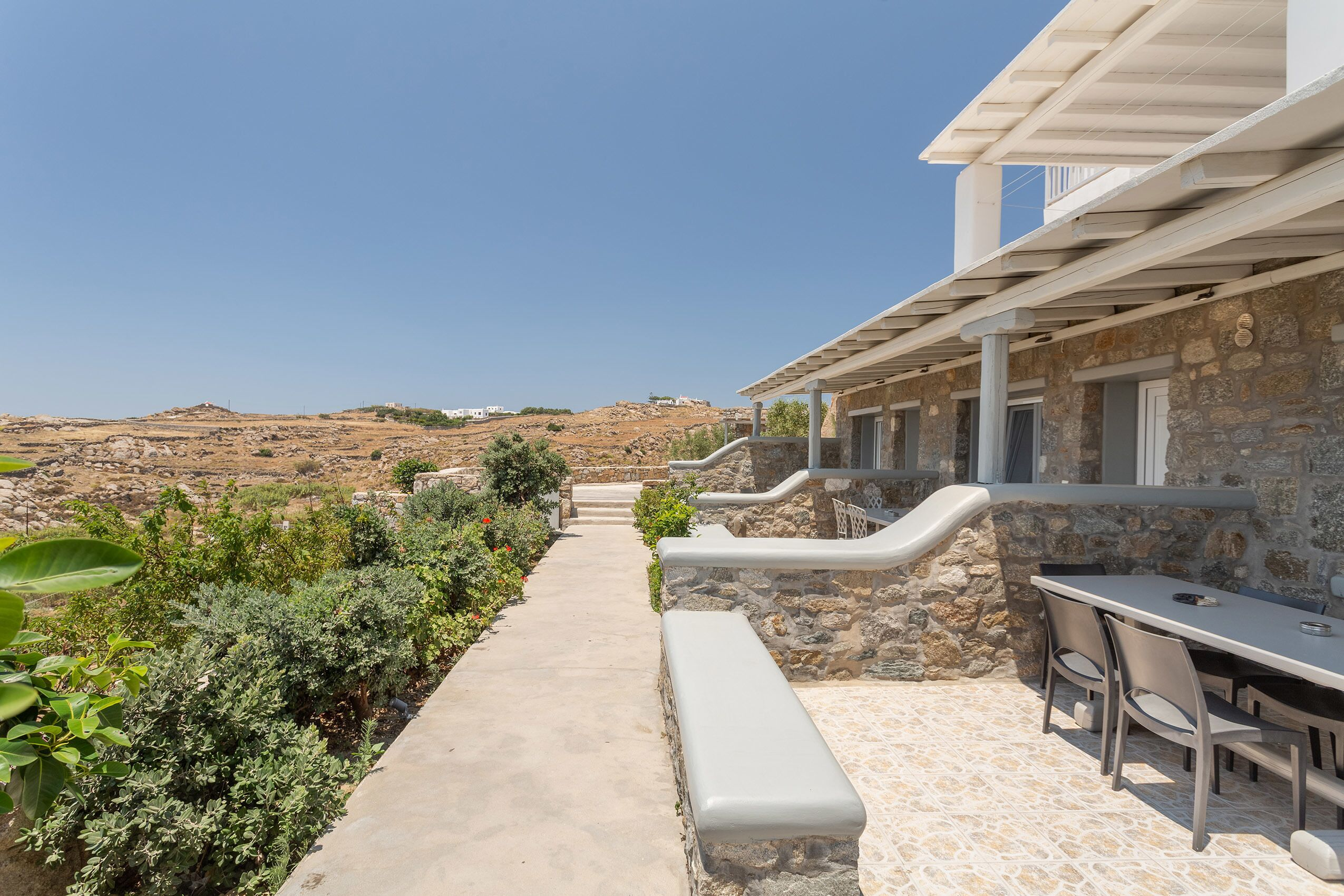 Overview Mykonos Apartments