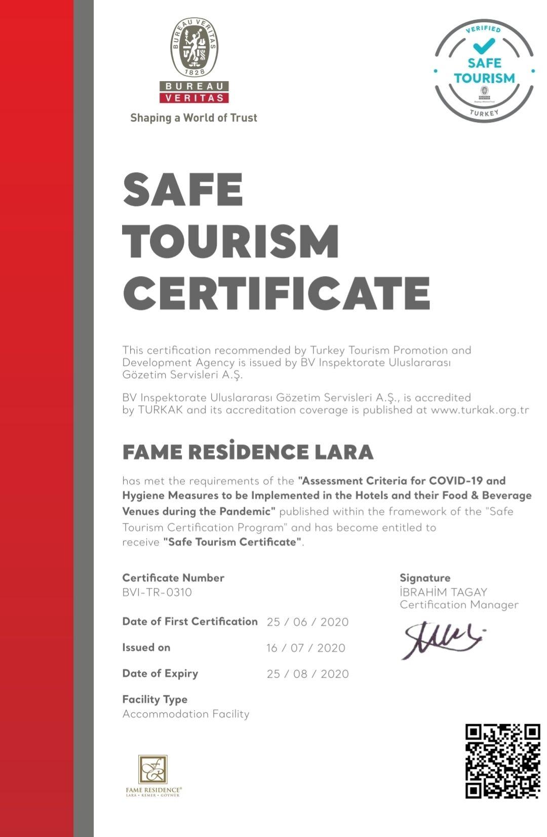 Fame Residence Lara