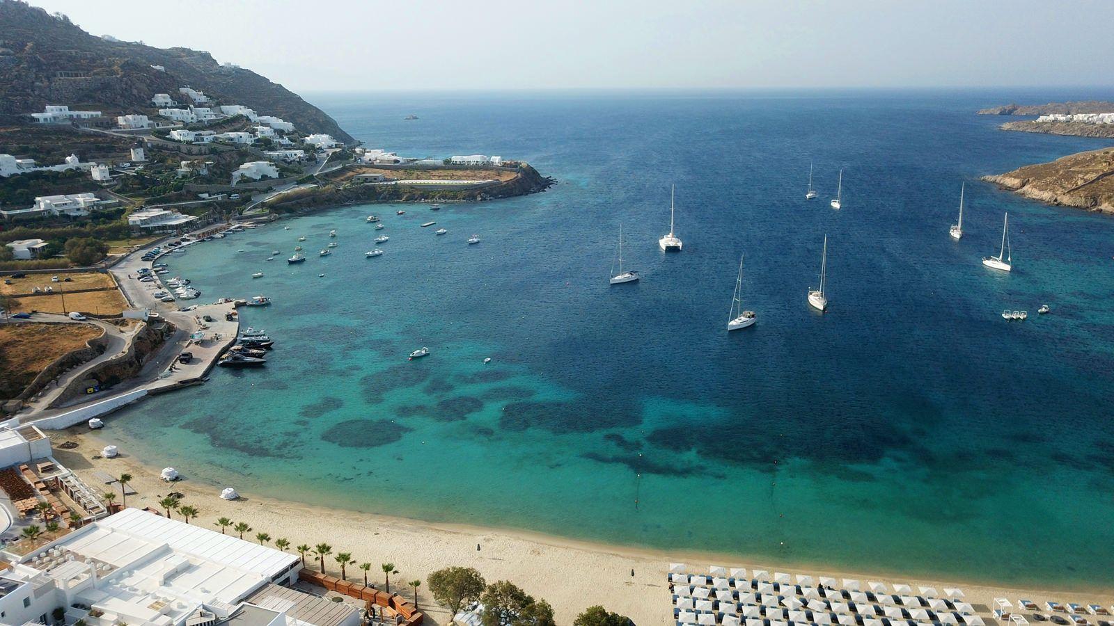 Marina Blue Ornos Mykonos
