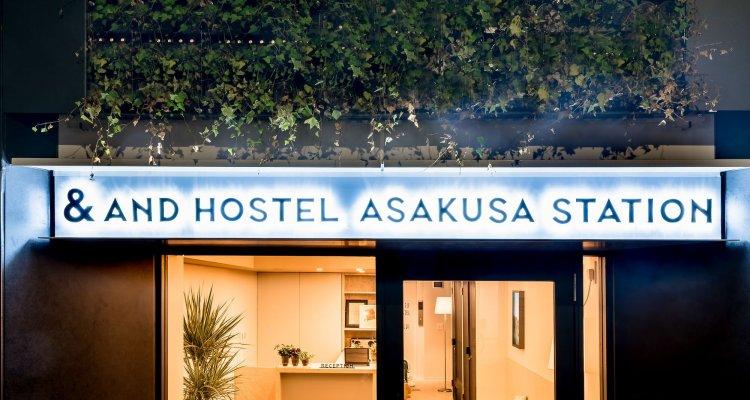 &And Hostel Asakusa Station