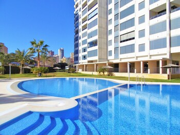 Apartment With one Bedroom in Benidorm, With Wonderful sea View, Pool
