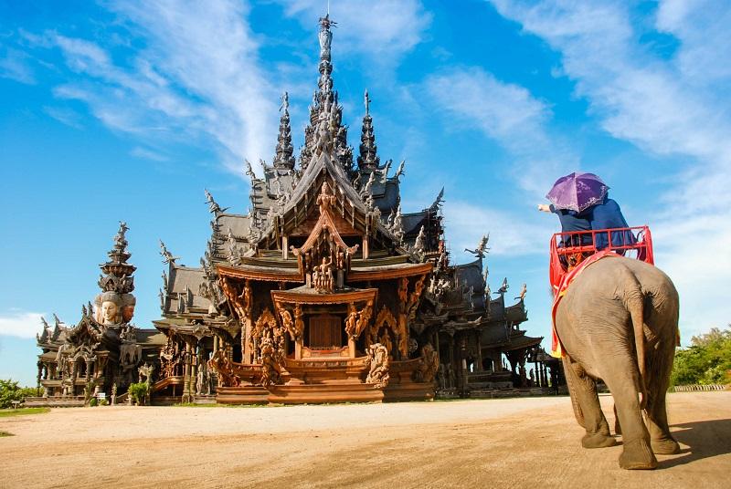 THAILANDA: PATTAYA SI BANGKOK - IANUARIE 2020