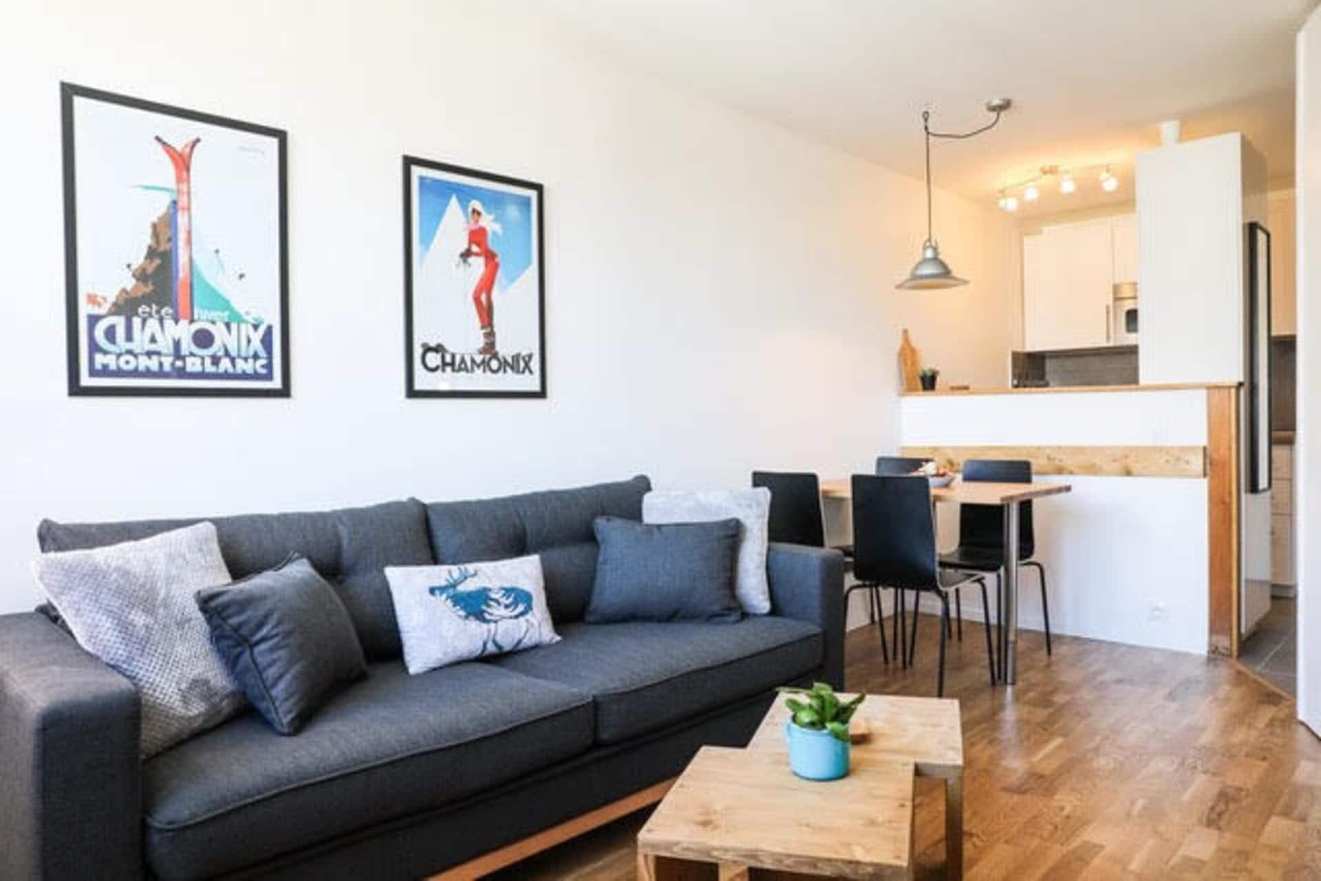 Apartment Chamois Blanc 7a