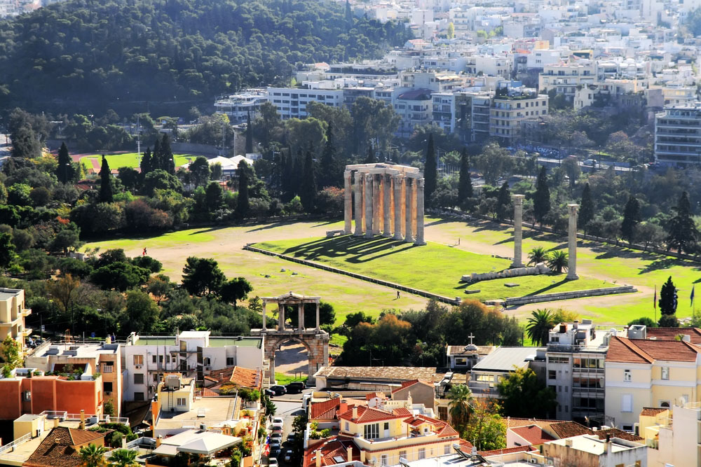Atena si Muzeele Acropolei