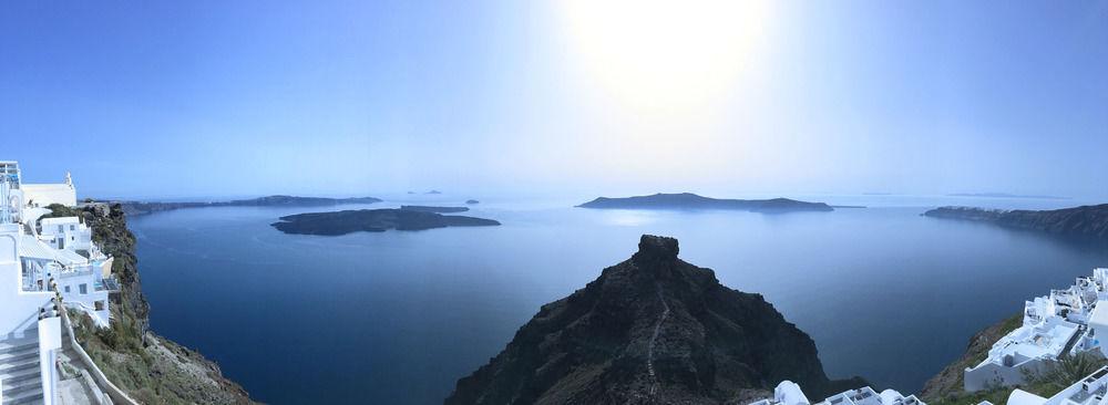 Santorini Cliffs