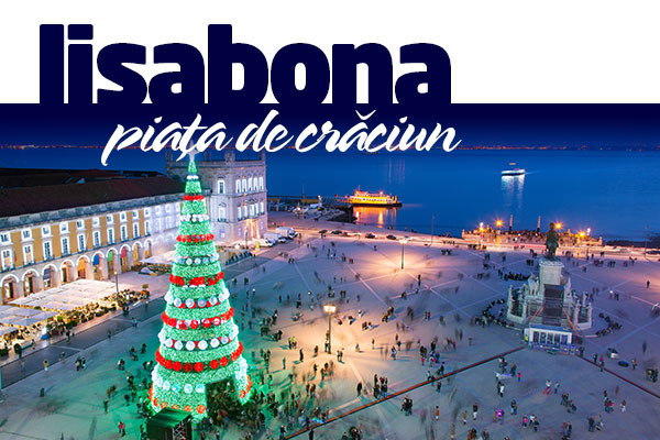 Piata de Craciun in Lisabona
