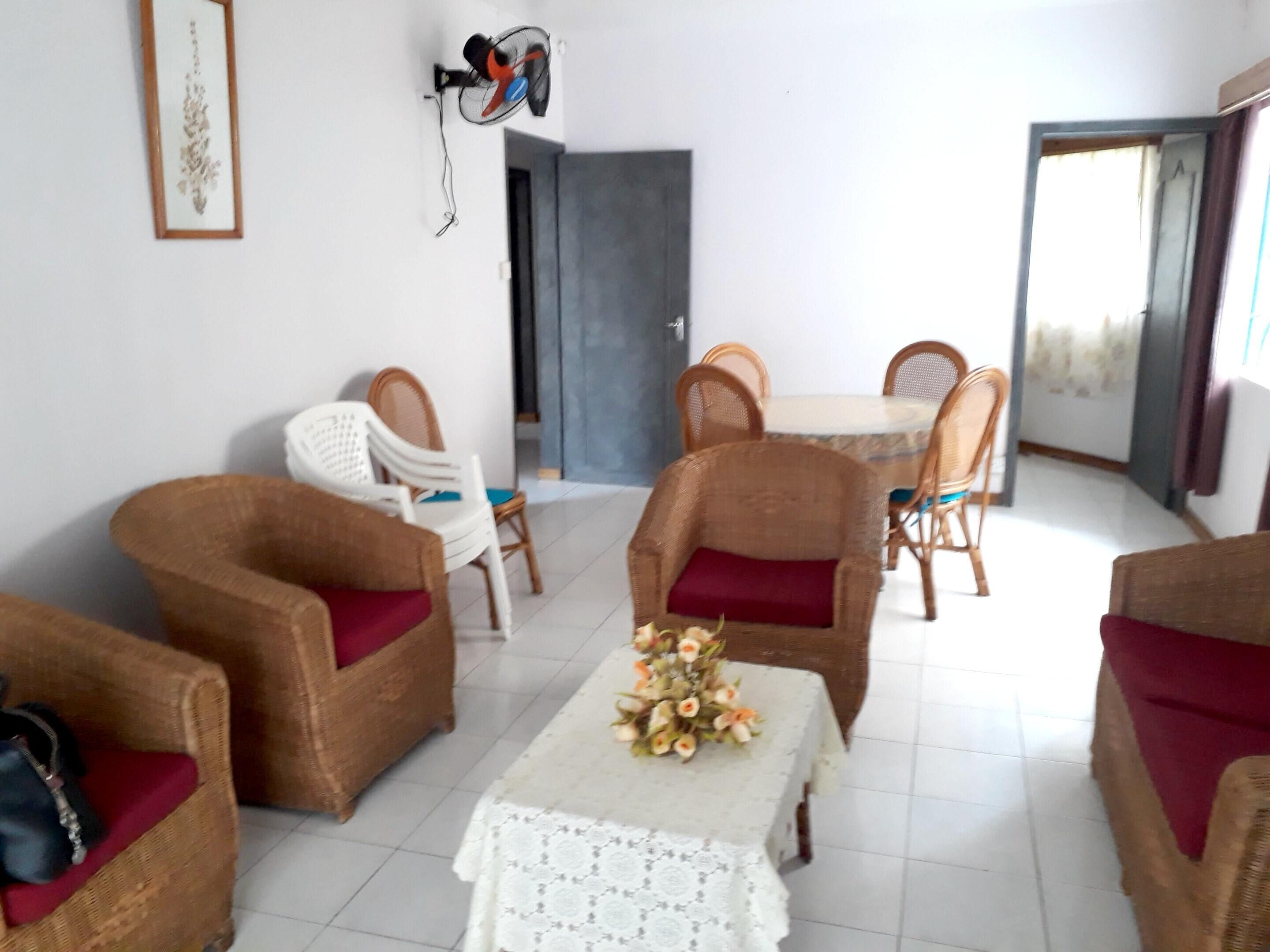 Apartment With 3 Bedrooms In Flic En Flac,  With Wonderful Sea View,  Ba