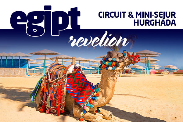 EGIPT - CIRCUIT CAIRO - MINISEJUR IN HURGHADA REVELION 2020