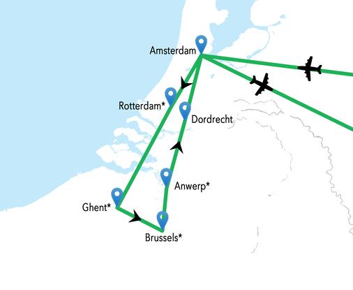 Croaziera Fluviala Belgia Olanda Vas Crucevita