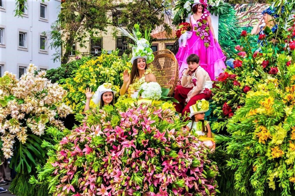 Festivalul Florilor în Insula Madeira
