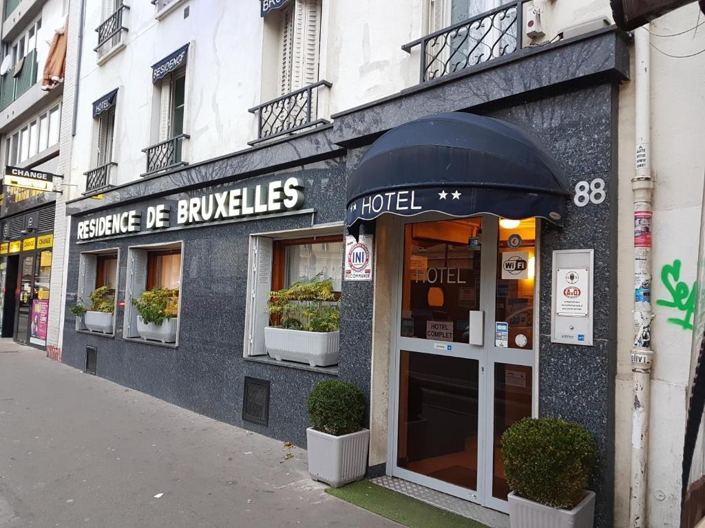 Residence de Bruxelles Paris