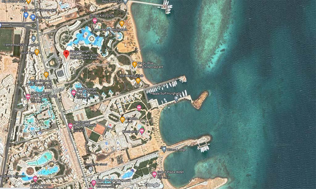 STEIGENBERGER AL DAU BEACH - EL MEMSHA, HURGADA