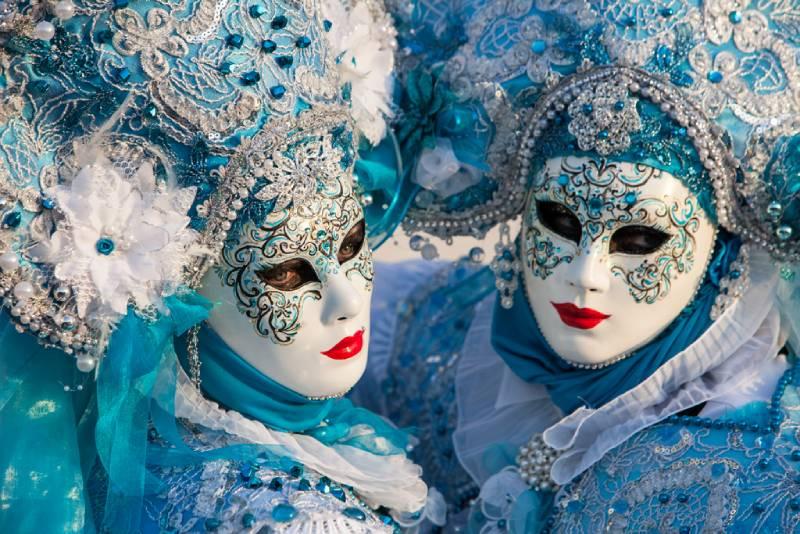Carnavalul de la Venetia - Buchet de Martisor