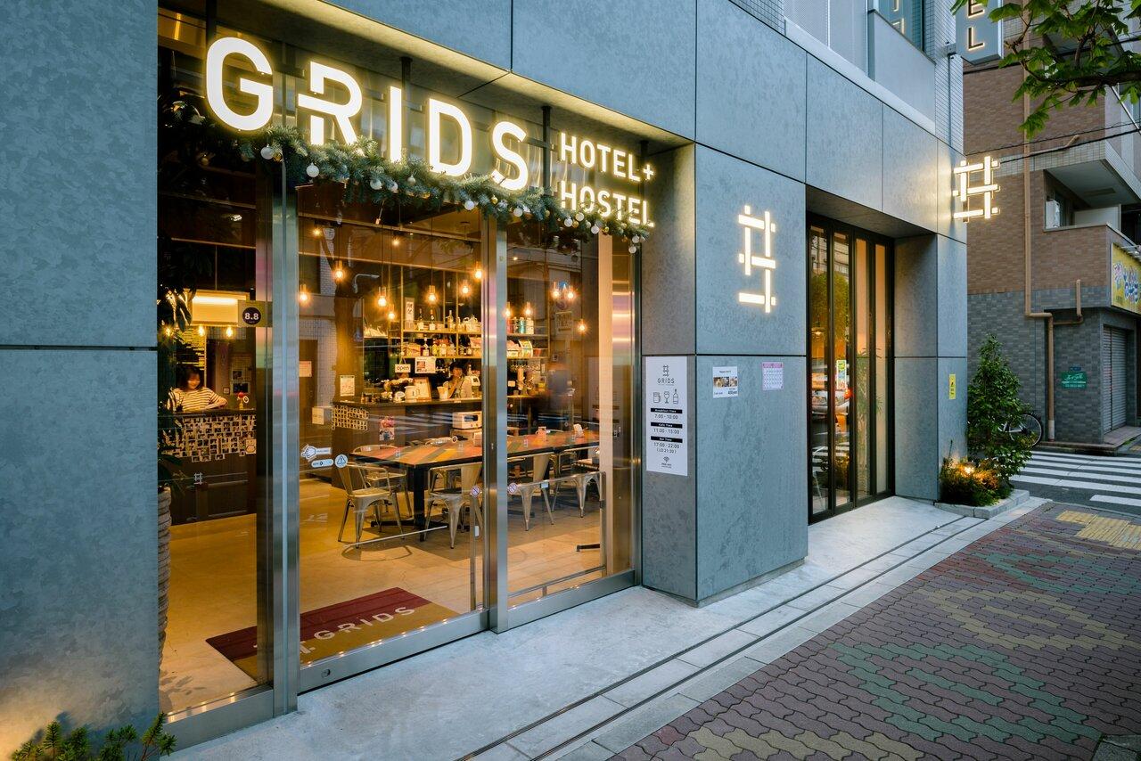 Grids Tokyo Asakusa-bashi Hotelandhostel