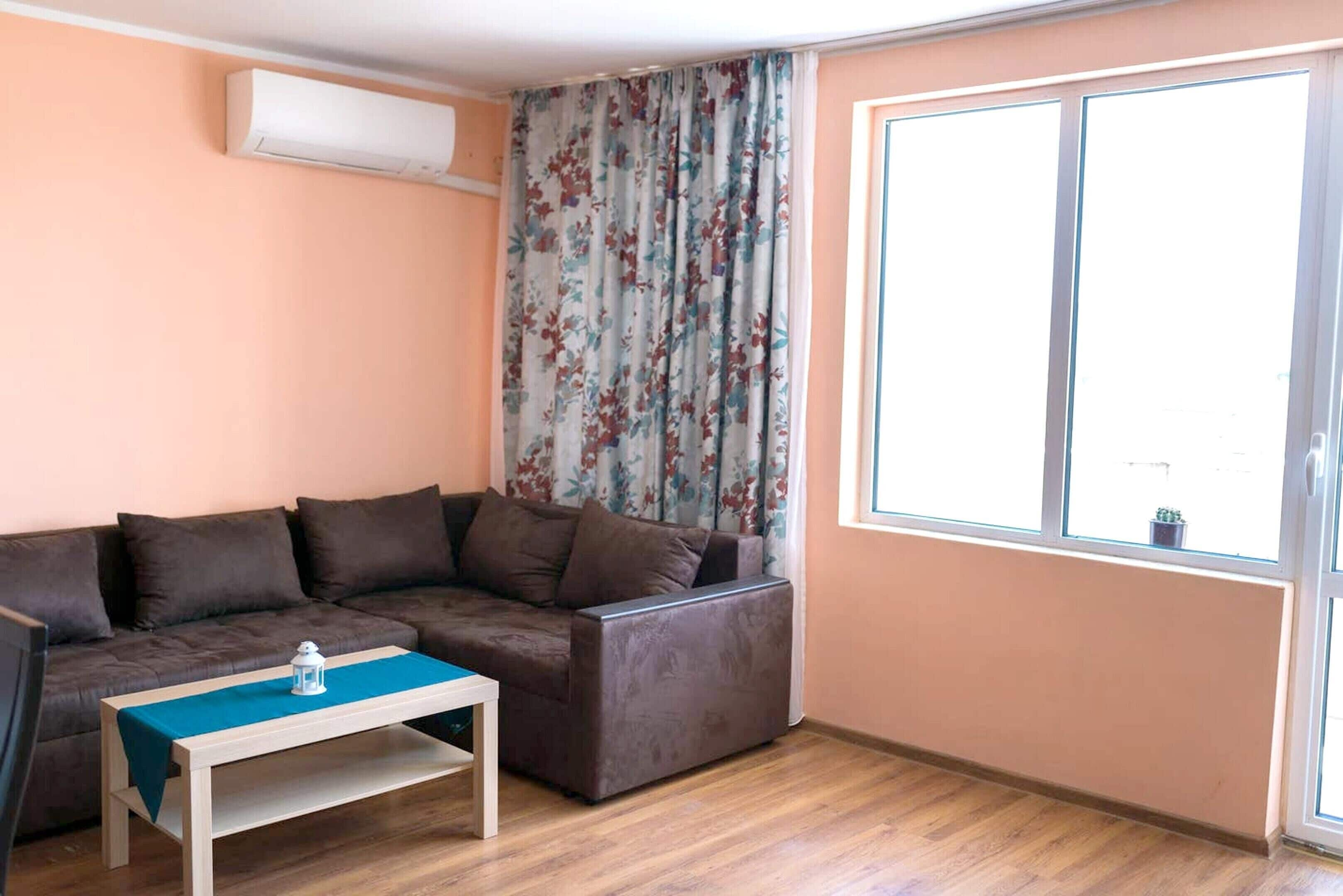 Apartment With One Bedroom In Varna,  With Balcony And Wifi