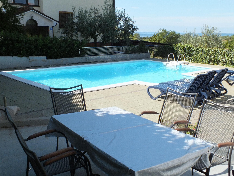 Apartment With One Bedroom In Zambratija,  Savudrija,  With Wonderful Sea View,  Pool Access And Wifi -