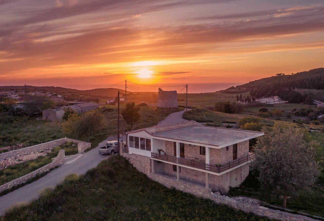 Villa Windmill Sunset