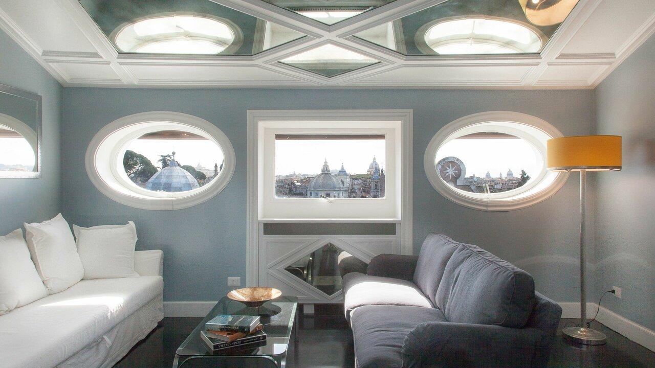 Rental In Rome Flaminio View Suite