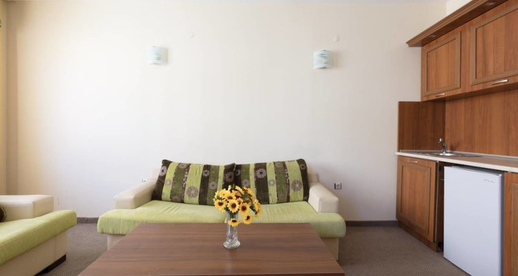 One Bedroom Family Apartment with Balcony