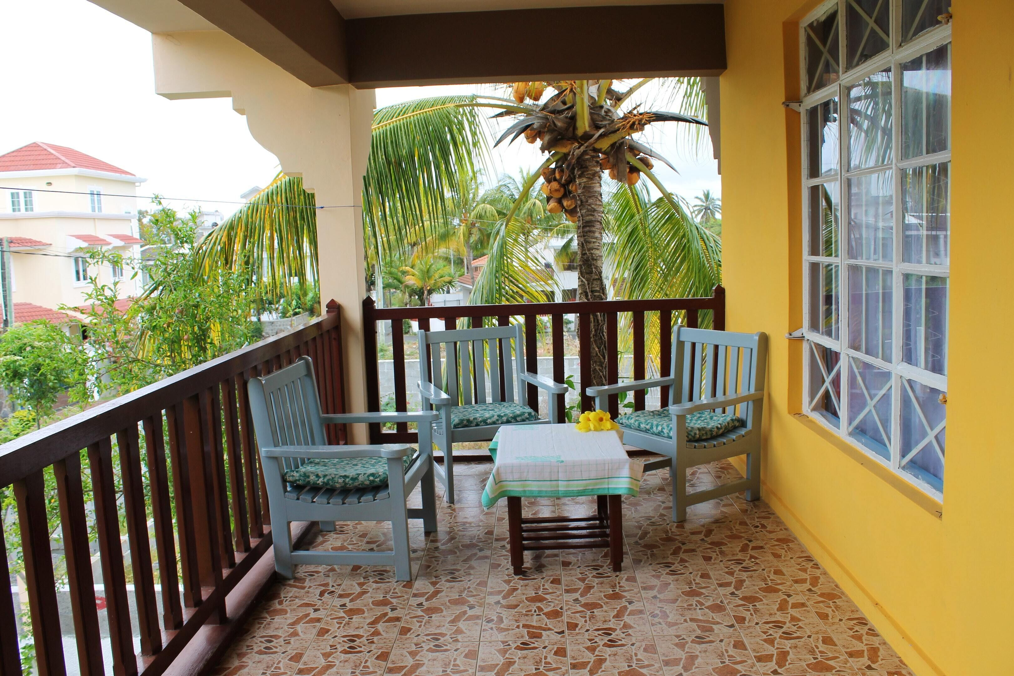 Apartment With 2 Bedrooms In Trou Aux Biches,  With Furnished Balcony A