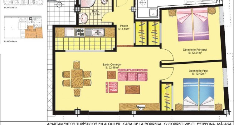 Apartamentos Turísticos Casa de La Borrega